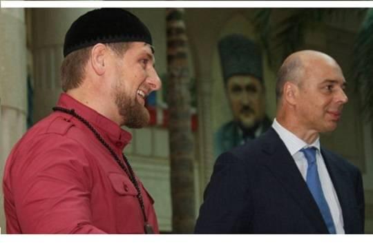 Силуанов поведал, как пополняется бюджет Чечни